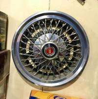 Album: Original Classic Ford Stainless Steel 14 Inch Wire Wheel Covers., photos:2