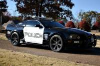 Transformers Mustang Police Car